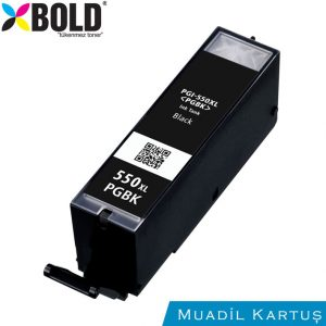 Canon PGI-550XL PGBK Siyah Muadil Kartuş